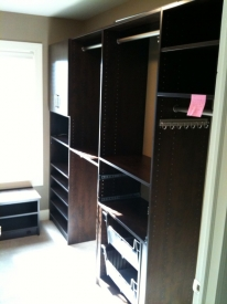 After:  Other side of closet