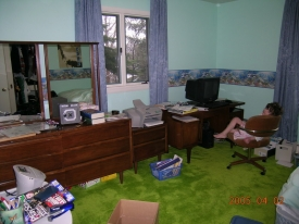 Before:  Office had been purged in quite some time and just had a build up of unnecessary papers and stuff